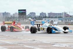 Esteban Guerrieri, Sam Schmidt Motorsports and Carlos Munoz, Andretti Autosport