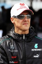 Michael Schumacher, Mercedes AMG F1 on the drivers parade