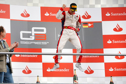 Podium: race winner Patric Niederhauser