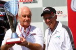 Roger Penske and Stephen Mandel, Mayor of Edmonton