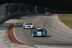 #82 1969 Lola T70 MkIIIB : Hobie Buppert #39 1966 Porsche 910: John Higgins #19 1969 Chevron B16: Joe Hish