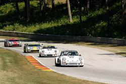 #53 1974 Porsche 911 RSR: Tom Hedges #43 1974 Porsche 911 RSR :Brian Pettey #004 2006 Ford GT: David Robertson #40 2006 Ford GT: Andrea Robertson
