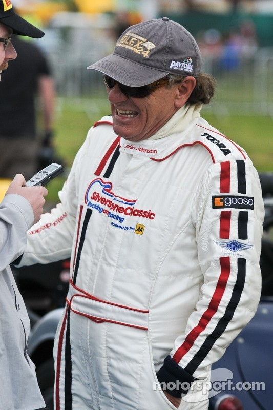 Brian Johnson im Interview mit Stephen Errity von Motorsport.com