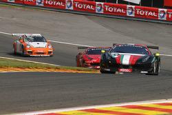 #52 AF Corse Ferrari 458 Italia: Niek Hommerson, Louis Machiels, Andrea Bertolini, Alessandro Pier Guidi