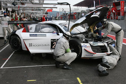 #23 United Autosports Audi R8 LMS Ultra: Mark Patterson, Mark Blundell, Alain Li, Richard Meins