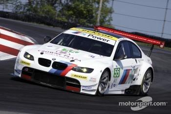 #55 BMW Team RLL BMW E92 M3: Jorg Müller, Bill Auberlen