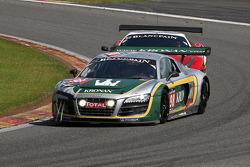 #98 JB Motorsport Audi R8 LMS: Jan Brunstedt, Mikael Bender, Jocke Mangs