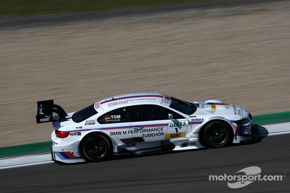 BMW M3 DTM on track