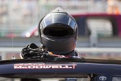 Michael McDowell's helmet