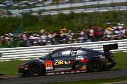 #11 Gainer Audi R8 LMS Ultra: Tetsuya Tanaka, Katsuyuki Hiranaka, Atsushi Yogo
