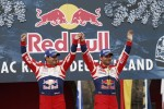 Podium: winners Sébastien Loeb and Daniel Elena, Citroën DS3 WRC, Citroën Total World Rally Team