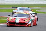 #61 AF Corse-Waltrip Ferrari 458 Italia: Piergiuseppe Perazzini, Marco Cioci, Matt Griffin
