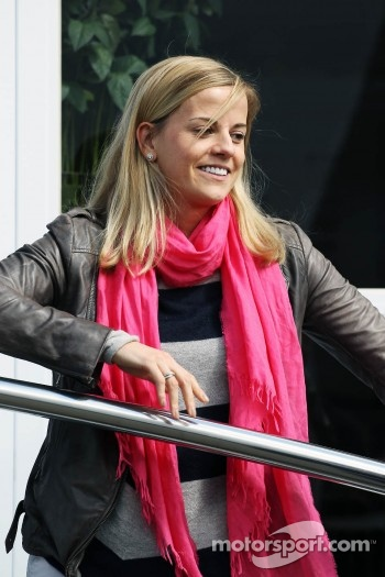 Susie Wolff, Williams Test Driver