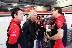 Sir Richard Branson, Virgin Group Owner with the Marussia F1 Team