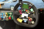 Dyson steering wheel detail