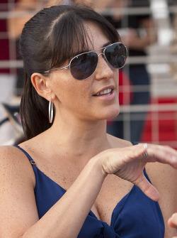 Juan Pablo Montoya's wife