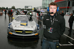 #102 Mercedes SLS AMG GT3: Max Nilsson, Mika Vahamaki