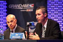 Scott Atherton, President and CEO of ALMS and Ed Bennett, President and CEO of Grand-Am