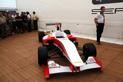 The new GP3 car