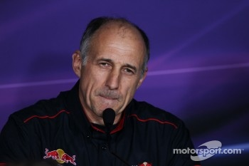 FIA press conference: Franz Tost, Scuderia Toro Rosso Team Principal