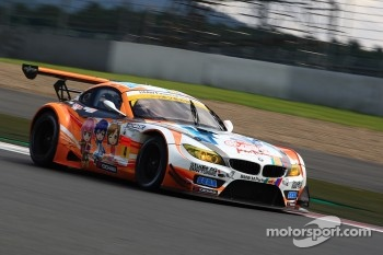 #4 GSR&Studie with Team Ukyo BMW Z4 GT3: Taku Bamba, Masahiro Sasaki