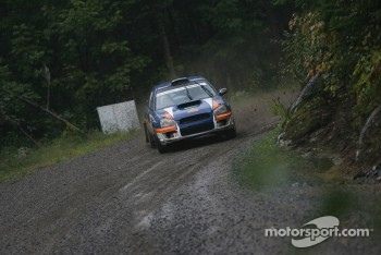 Maxime Labrie and Robert Labrie, Subaru WRX
