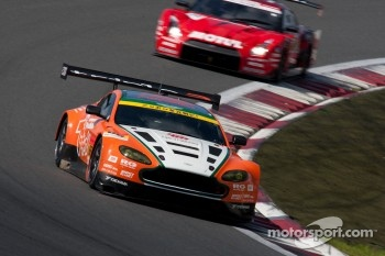 #66 A Speed Aston Martin V8 Vantage: Hiroki Yoshimoto, Kazuki Hoshino