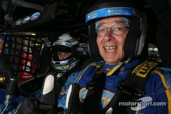 Mark Winterbottom takes Dr Karl Kruszelnicki for a hot lap