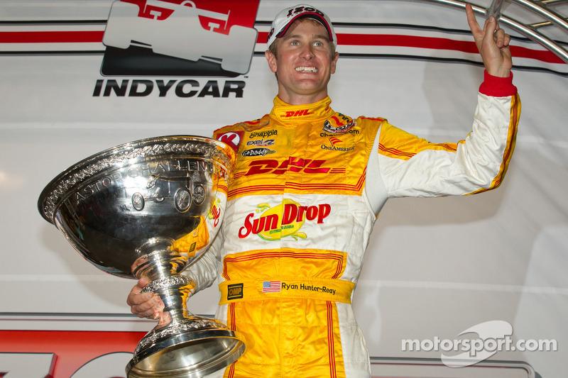 IndyCar Series 2012 champion Ryan Hunter-Reay, Andretti Autosport Chevrolet