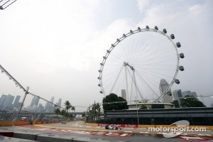 Stephane Richelmi at Marina Bay Street Circuit