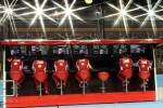 Ferrari pit gantry