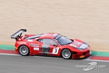 #3 AF Corse  Ferrari 458 Italia: Filip Salaquarda, Toni Vilander