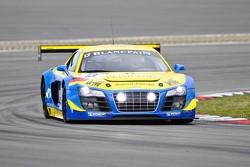 #13 Phoenix Racing Audi R8 LMS Ultra: Luca Ludwig, Harold Primat, Rene Rast