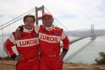 Alexey Dudukalo, SEAT Leon WTCC, Lukoil Racing Team and Gabriele Tarquini, SEAT Leon WTCC, Lukoil Racing Team