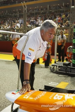 Dr. Vijay Mallya, Sahara Force India F1 Team Owner