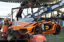 #112 Lamborghini Gallardo LP560-4: Eduard Leganov, Sergey Afanasyev