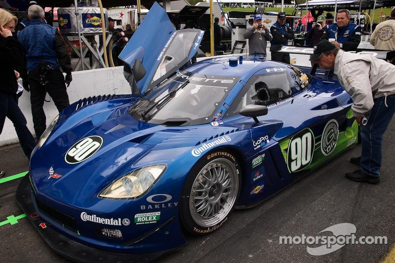 #90 Spirit of Daytona Racing Corvette DP: Antonio Garcia, Richard Westbrook