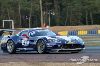 #44 Team Pouchelon Dodge Viper Coupé CC S2: Franck Morel; Erwin France in trouble