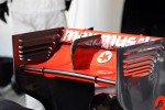 McLaren MP4/27 rear wing of Jenson Button, McLaren