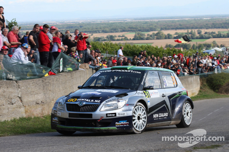 Hayden Paddon and Johnathan Kennard, Skoda Fabia
