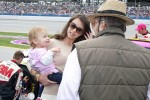Greg Biffle's wife and child