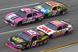 Clint Bowyer, Matt Kenseth, Greg Biffle, Kyle Busch