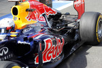 Sebastian Vettel, Red Bull Racing exhaust and rear suspension detail