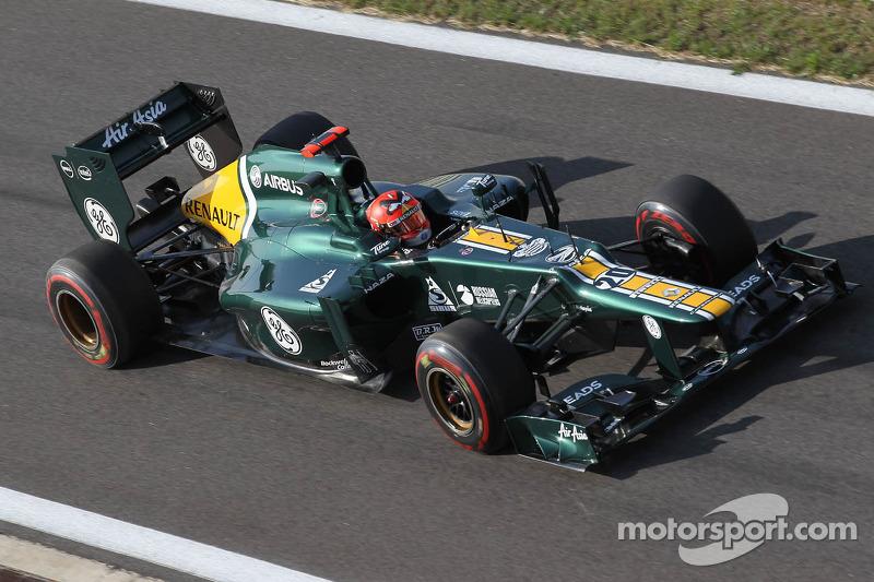 Heikki Kovalainen, Caterham F1 Team