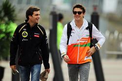 Jérôme d'Ambrosio, Lotus F1 Team Third Driver with Jules Bianchi, Sahara Force India F1 Team Third Driver