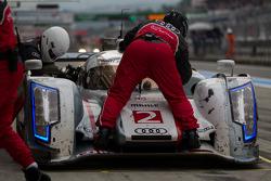 #2 Audi Sport Team Joest R18 e-tron quattro: Tom Kristensen, Allan McNish