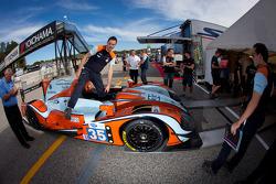 #35 Oak Racing Morgan Nissan at technical inspection
