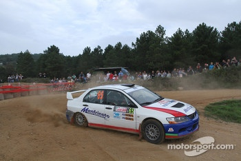 Giovanni Manfrinato and Claudio Condotta, Mitsubisi Lancer Evo