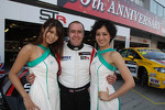 Tom Boardman, SEAT Leon WTCC,  Special Tuning Racing with Grid Girls
