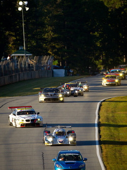 Safety car leads the field under full-course yellow